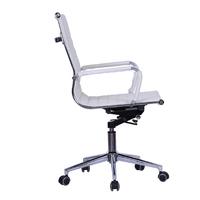 Gorilla Office: Replica Eames Mid Back Chair - White