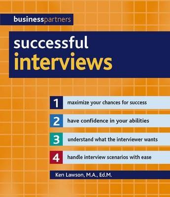 Successful Interviews by Ken Lawson image