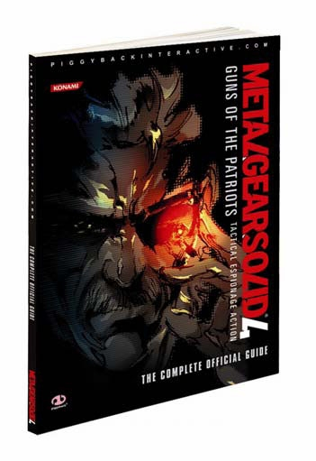 Metal Gear Solid 4 Limited Edition Piggyback Game Guide image