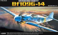 Academy Messerchmitt BF109G-14 1/72 Model Kit