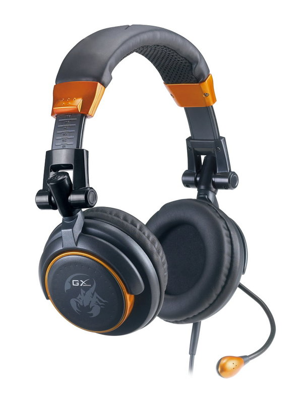 Genius GX Giant Hornet Gaming Headset for PC Games