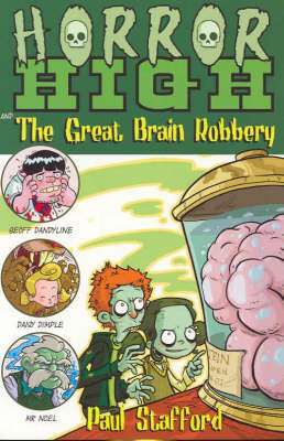 The Great Brain Robbery by Paul Stafford image