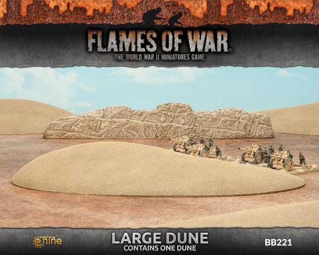 Flames of War - Large Dune