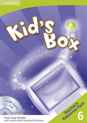 Kid's Box 6 Teacher's Resource Pack with 2 Audio CDs: Level 6 by Kate Cory-Wright