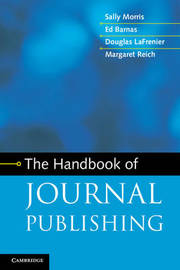 The Handbook of Journal Publishing by Sally Morris