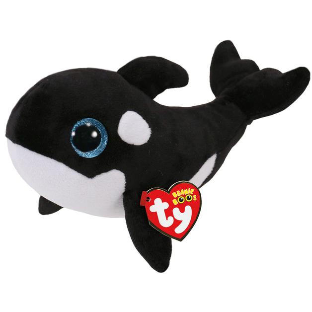 Ty Beanie Boo: Orca Whale - Small Plush