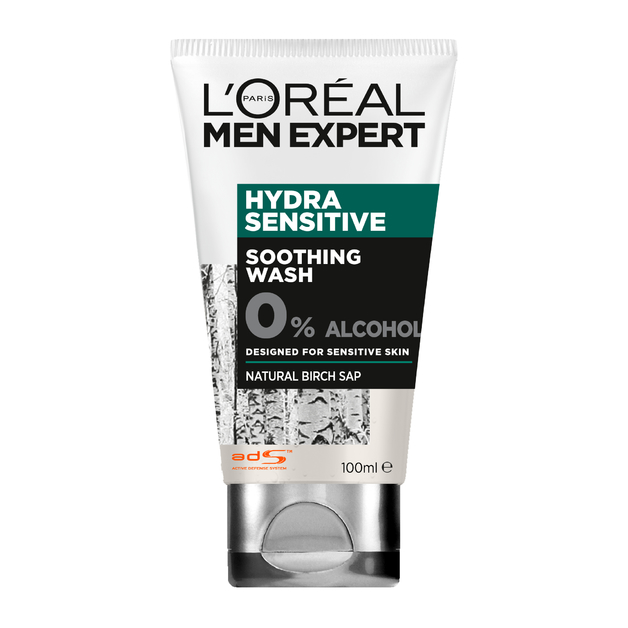 L'Oreal Men Expert - Hydra Sensitive Wash (100ml)
