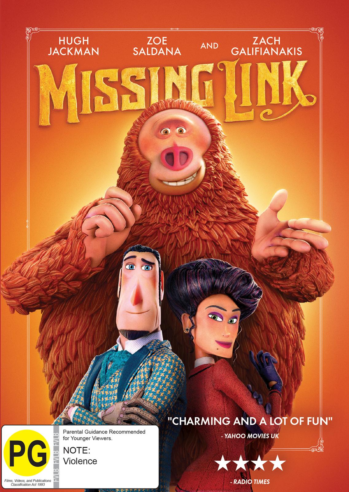 Missing Link on DVD image