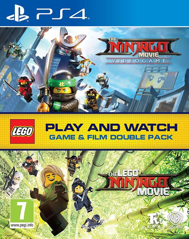 LEGO Ninjago Game & Film Double Pack for PS4