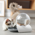 2.8L Bubble Cat Drinking Fountain - Large (Grey)
