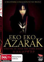 Eko Eko Azarak: Volume 3 on DVD