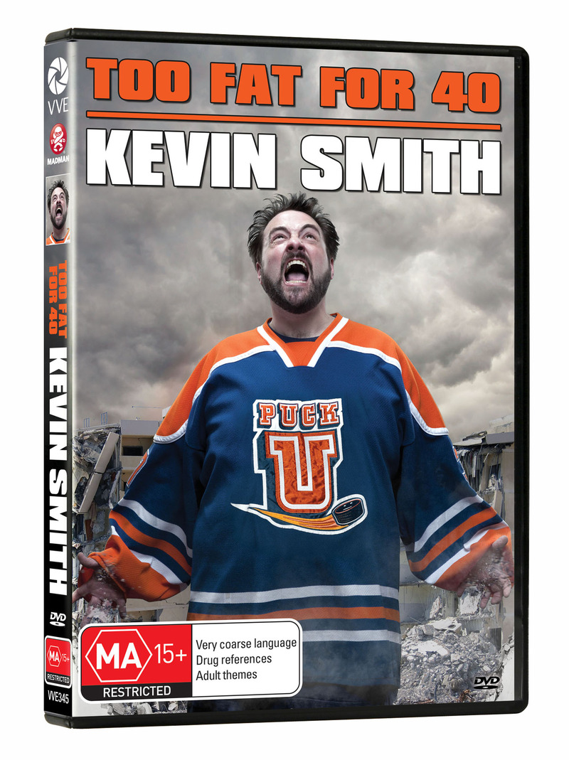 Kevin Smith - Too Fat for 40 on DVD image