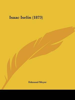 Isaac Iselin (1873) by Edmund Meyer image