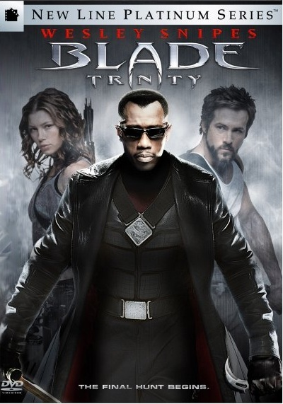 Blade Trinity on DVD image