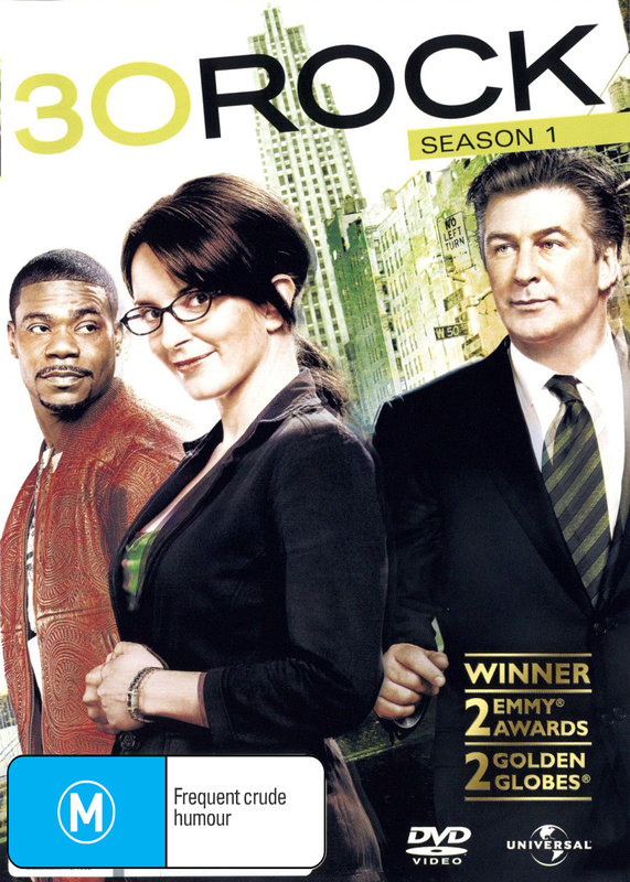 30 Rock - Season 1 on DVD