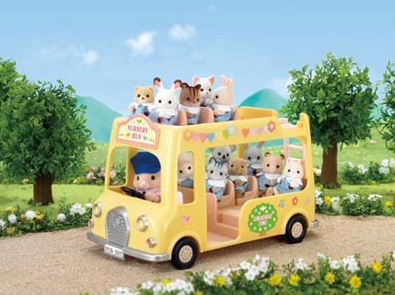Sylvanian Families: Nursery Double Decker Bus