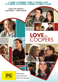 Love The Coopers on DVD