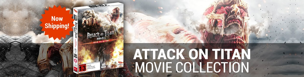 Attack on Titan Movie Collection