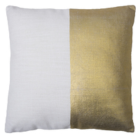 Bambury Block Cushion (Gold) image