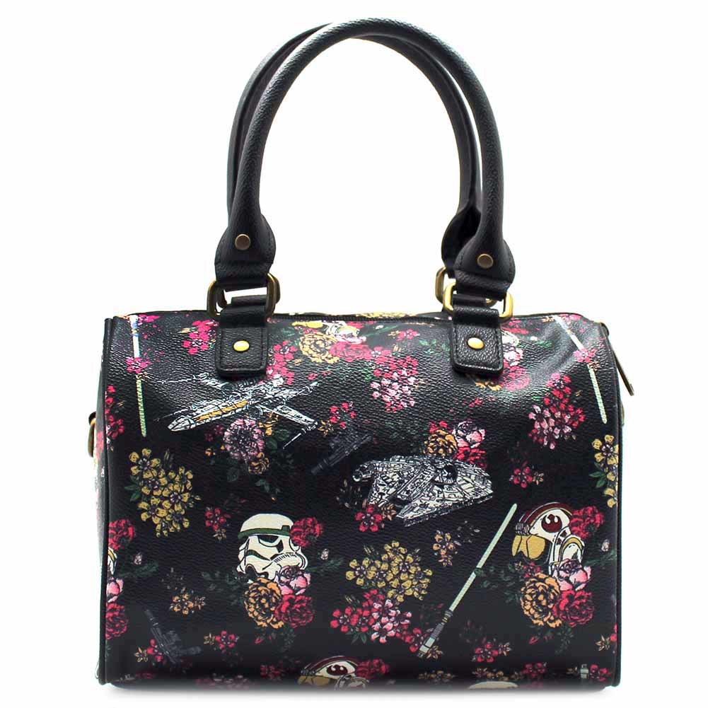Loungefly Star Wars Stormtrooper Floral Print Duffle image