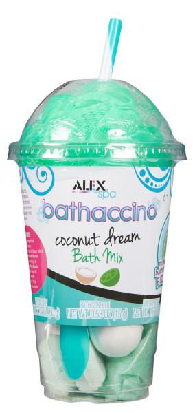 Alex Spa: Bathaccino Bath Mix - Coconut Dream image