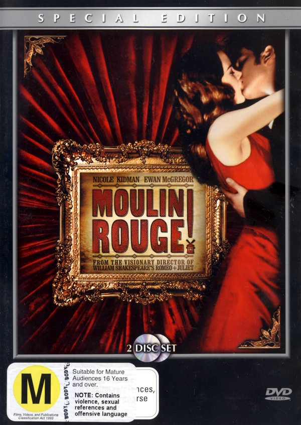 Moulin Rouge Special Edition (2 Disc) on DVD image