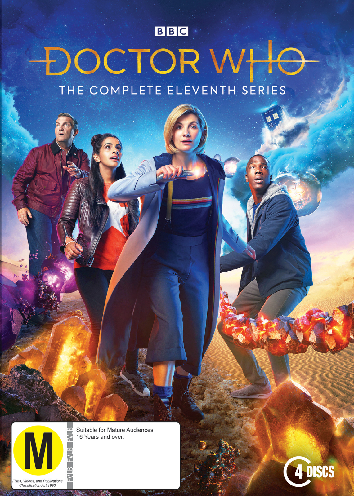 Doctor Who: The Complete Eleventh Season on DVD image