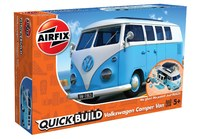 Airfix Quickbuild Volkswagen Camper Van Blue - Model Kit