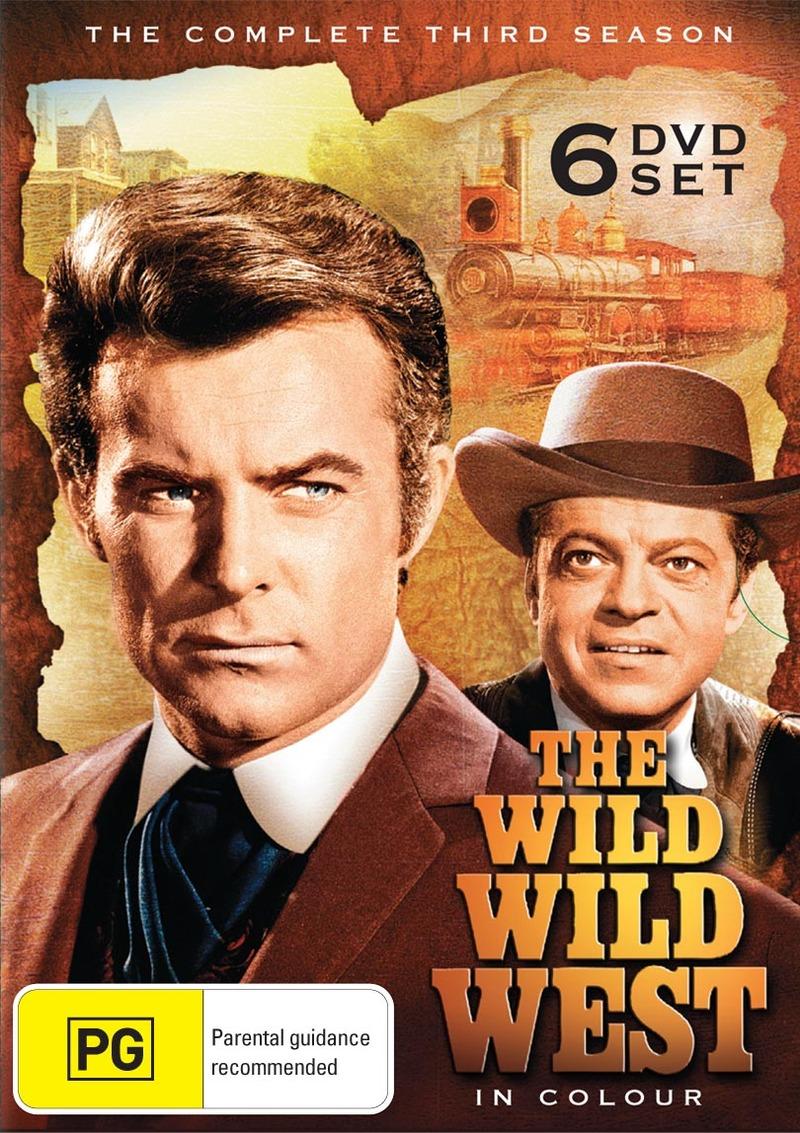The Wild Wild West - Season Three (6 Disc Set) DVD image