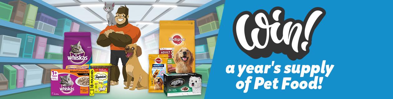Pet Food Giveaway