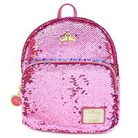 Loungefly: Sleeping Beauty - Reversible Sequin Mini Backpack