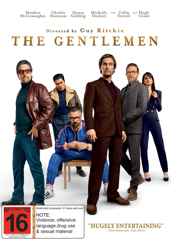 The Gentlemen on DVD