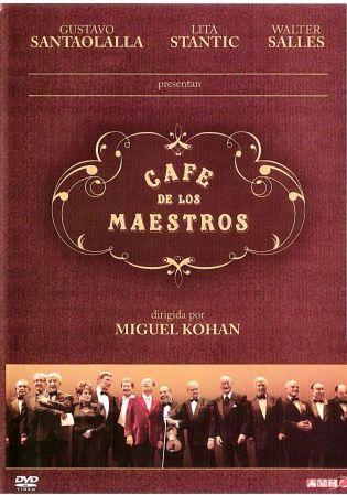 Cafe de Los Maestros on DVD image