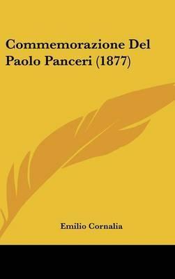Commemorazione del Paolo Panceri (1877) by Emilio Cornalia image