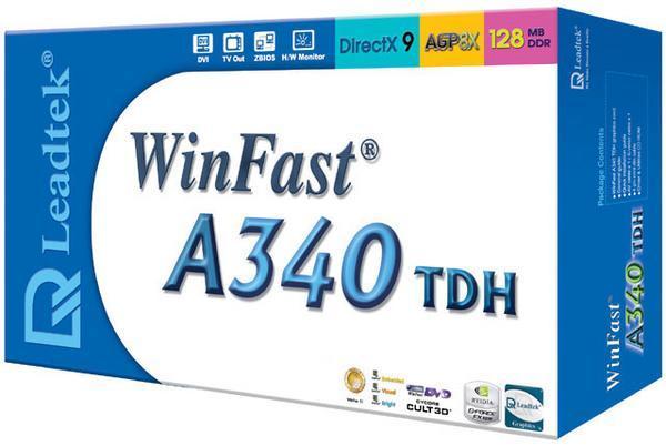 Leadtek Graphics Card WinFast A340 TDH 256M FX5200 AGP