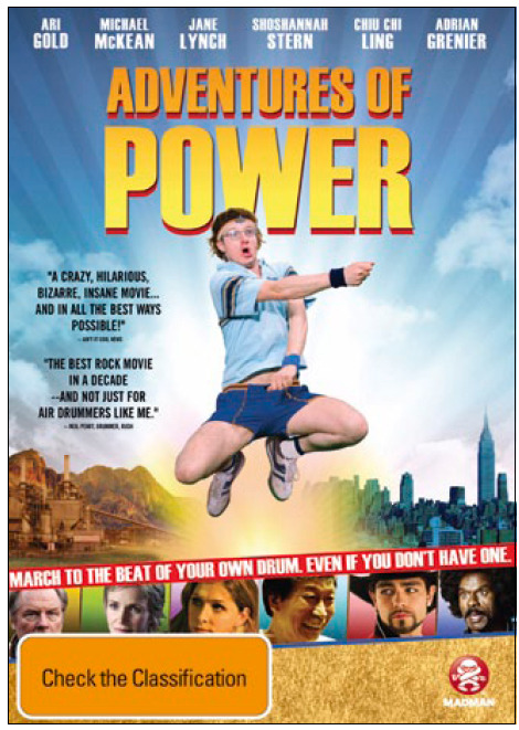 Adventures of Power on DVD