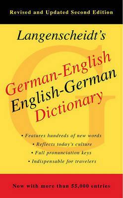 German-English Dictionary by Langenscheidt