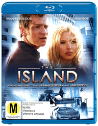 The Island on Blu-ray