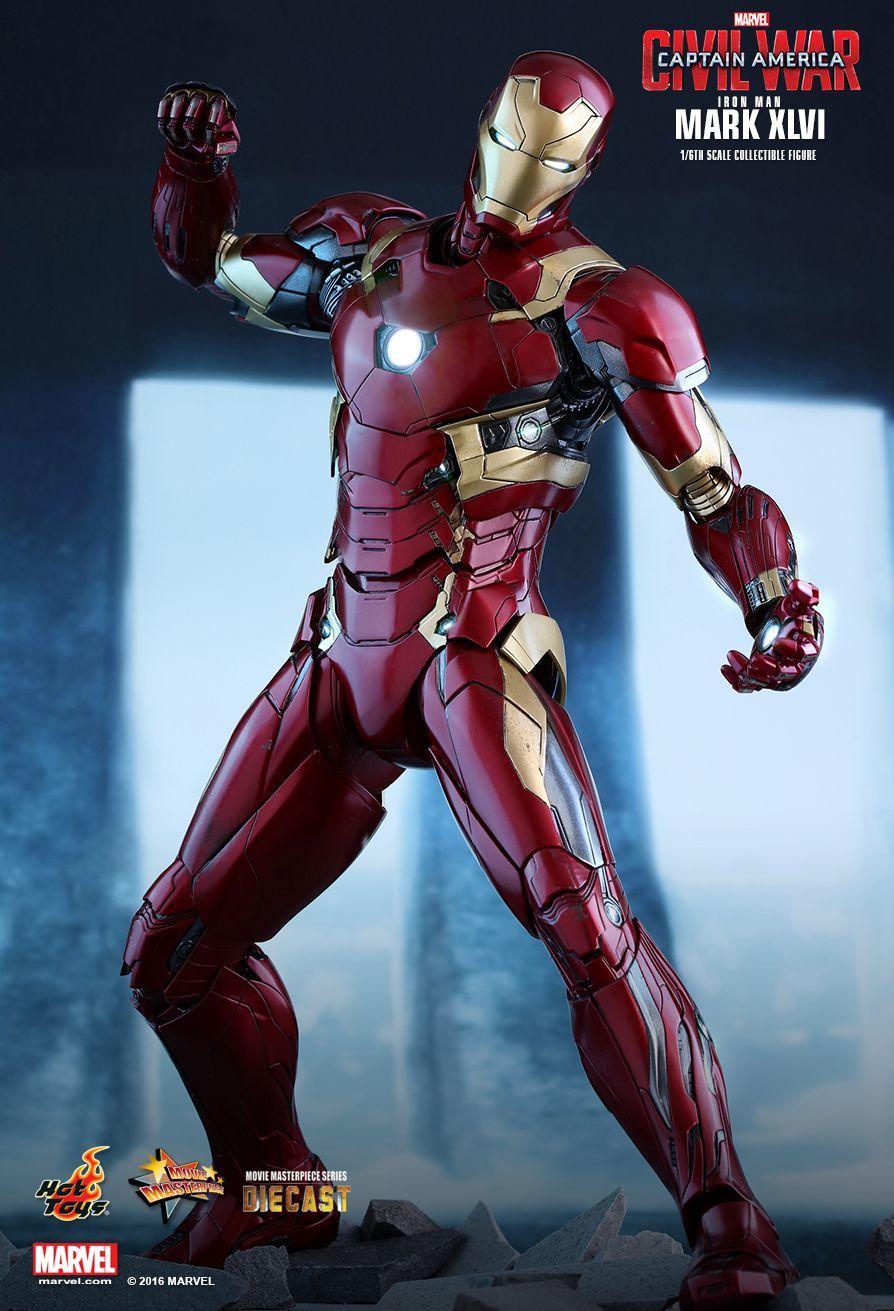 Captain America: Civil War - Iron Man Mark XLVI 1:6 Scale Figure image