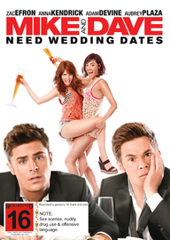Mike and Dave Need Wedding Dates on DVD