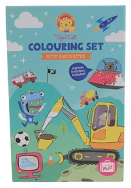 Tiger Tribe: Colouring Set - Boys Favourites