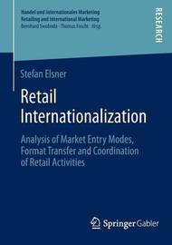 Retail Internationalization by Stefan Elsner