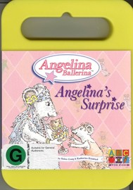 Angelina Ballerina - Angelina's Surprise (Handle Case) on DVD image