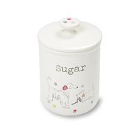 Cooksmart: Dapper Dogs Ceramic Sugar Canister