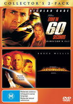 Gone In 60 Seconds (2000) / Armageddon - Collector's 2-Pack (2 Disc Set) on DVD
