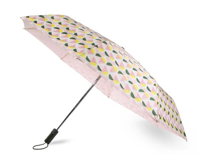 Kate Spade: Travel Umbrella - Geo Spade