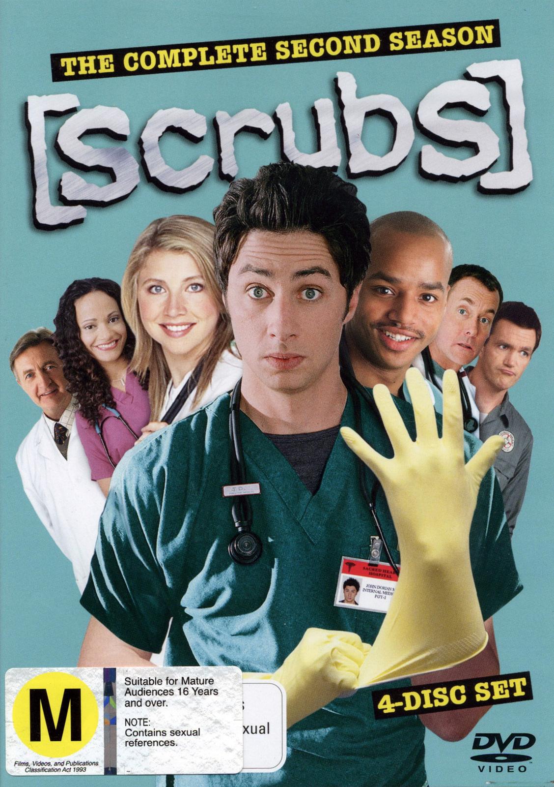 Scrubs - Season 2 on DVD image