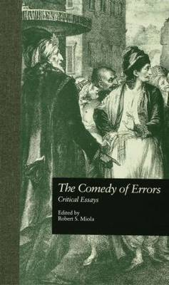The Comedy of Errors by Robert S. Miola image
