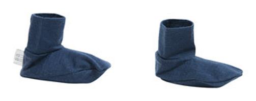 Babu Merino Booties - Navy (0-3 Months)