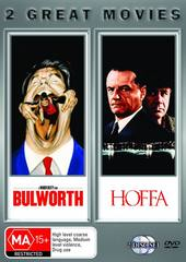 Bulworth / Hoffa on DVD